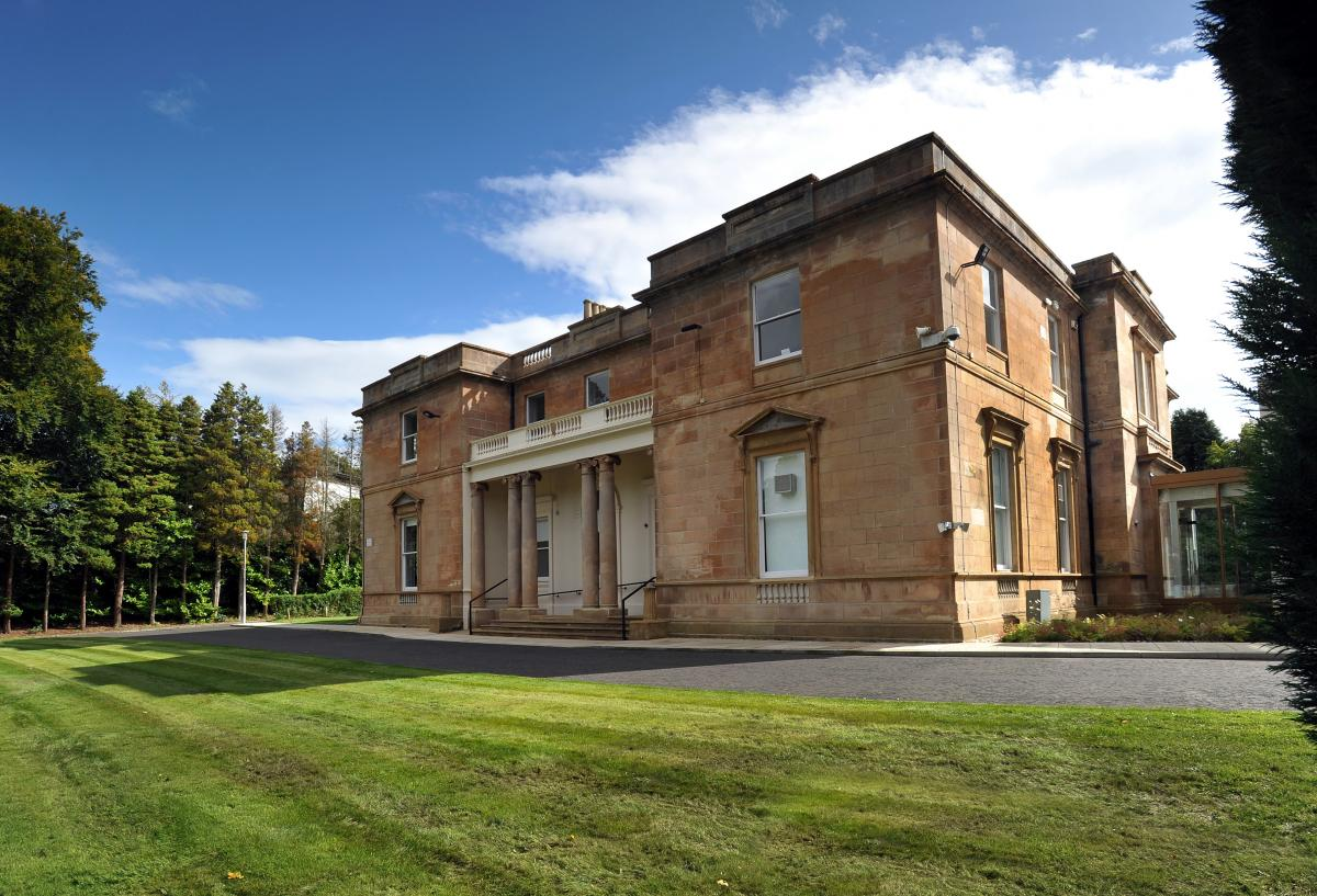 External view of Kilmardinny House