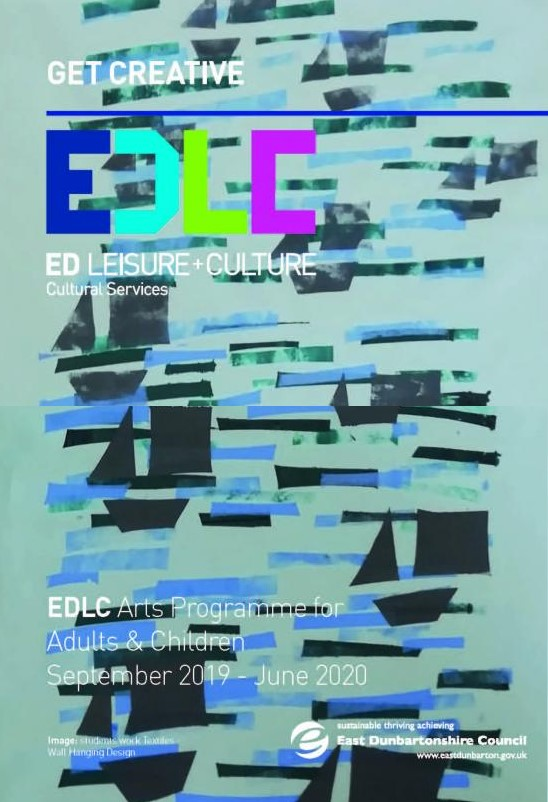 Cover of Get Creative brochure