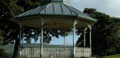 Peel park band stand