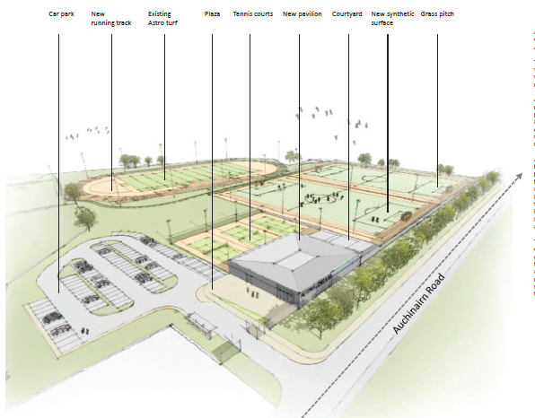 Site layout image